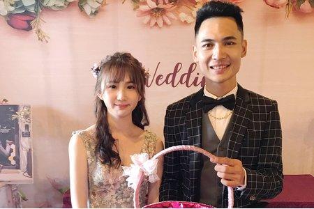 宇萱文定婚宴造型