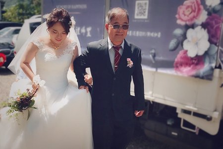 芮嘉訂結婚宴造型