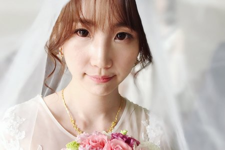 宇萱結婚宴客造型