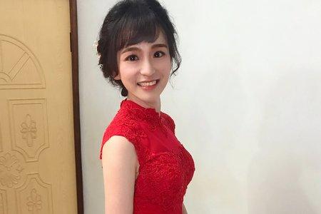 仰芊文定單妝髮造型
