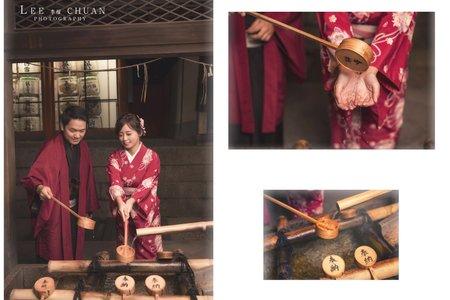 『海外婚紗』京都楓葉
