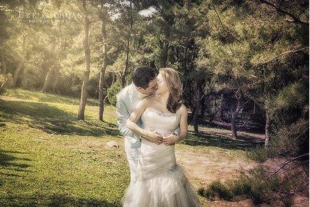 台北婚紗-陽明山黑森林