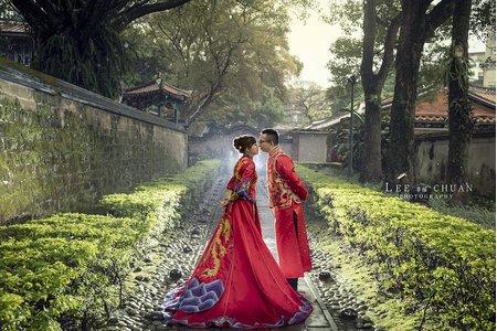 婚紗包套-中式/龍鳳掛/唯美