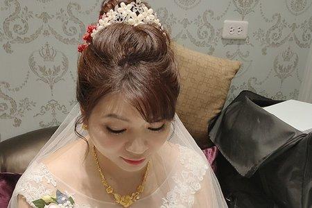 2019/06/16 我的新娘子是老師 結婚三造型~