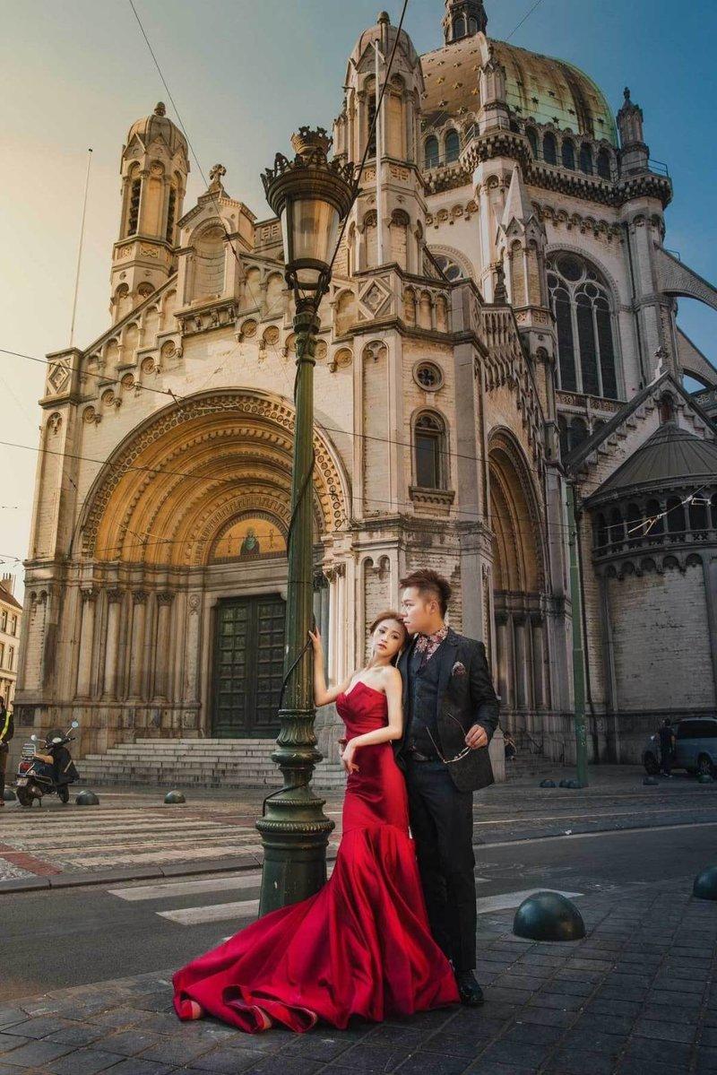 比利時海外婚紗作品