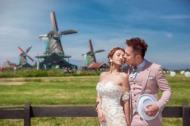 荷蘭海外婚紗作品