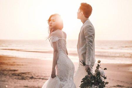 婚紗攝影  -逆光婚紗攝影-