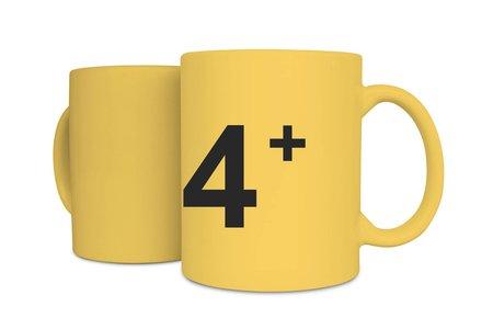 白瓷馬克杯4件套組