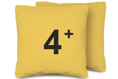 手工抱枕4個套組