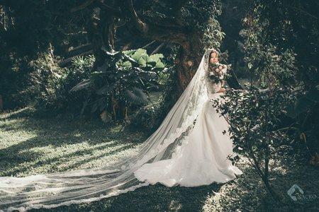 『婚紗攝製』哪隻狗Nacko 唯美森林
