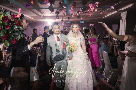 『婚禮紀實』那米哥婚宴會館