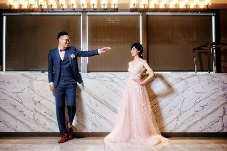 [台北萬華婚攝] 小火車❤果果@凱達飯店 & 格萊天漾 天漾廳