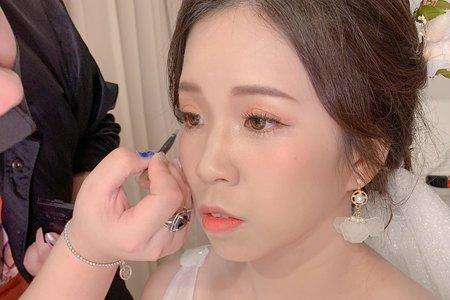 婚禮當天超韓系~絕對是全場焦點