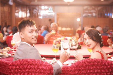 訂婚儀式作品於高雄漢神成功店