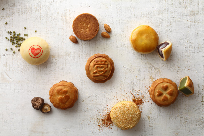 6種口味喜事小圓餅