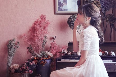 花草風棚拍婚紗
