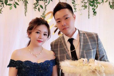沁涵新娘婚禮現場