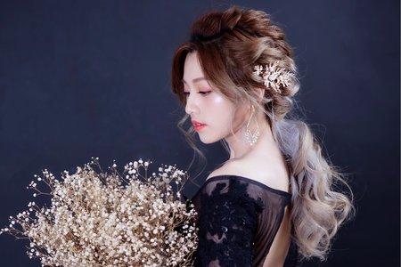 優雅新娘造型