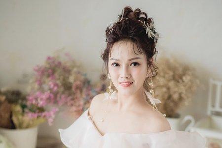 日式高盤髮新娘造型
