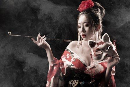 台南凱驛莎 時尚婚紗 │ 攝影師創作-花魁