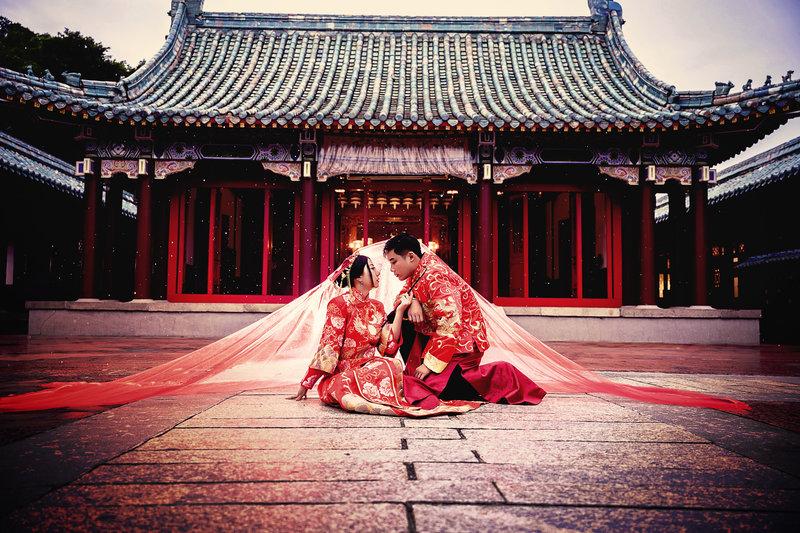 情侶婚紗寫真