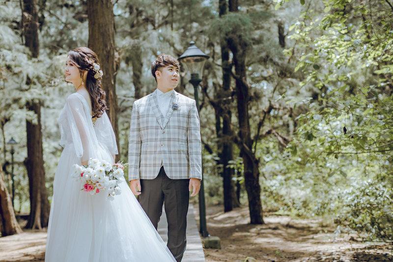 清新婚紗寫真