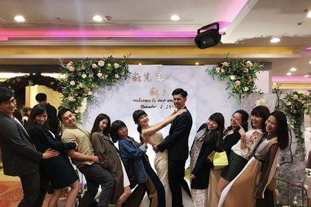 員林昇財麗禧婚禮佈置