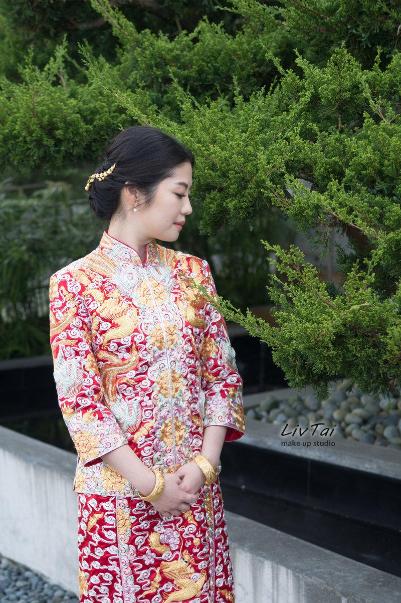 龍鳳褂的優雅