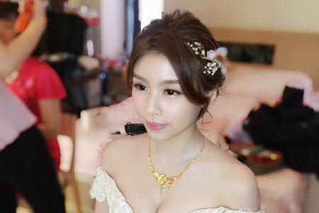 Yuki結婚造型
