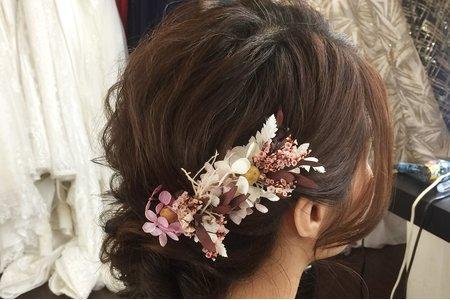 俞茹婚紗造型