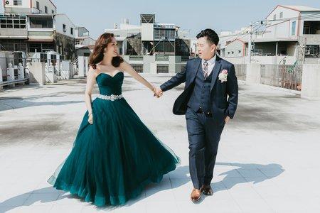 [Wedding] 大毛&怡君 迎娶宴客|開漳聖王廟
