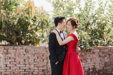 [Wedding] 鴻儒&庭瑜 文定午宴|台南自宅流水席