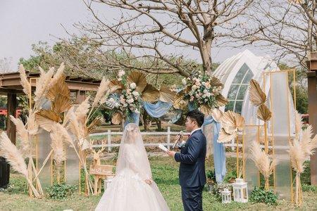 [Wedding] 仁欣莊園戶外婚禮 二機視角