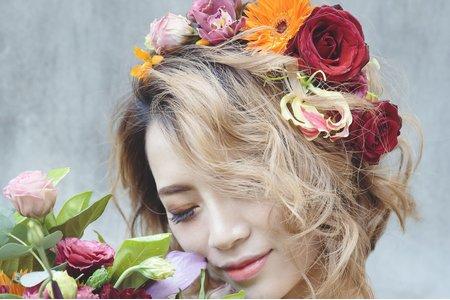 花造型 (短髮)