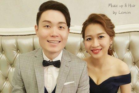 新娘秘書妝髮造型近照