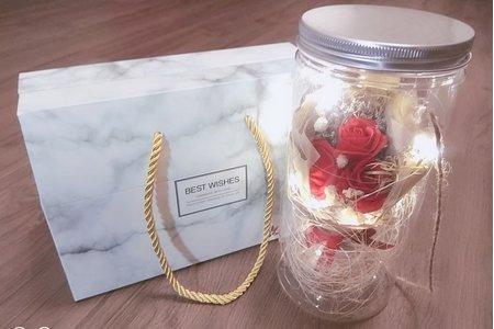 永遠幸福玫瑰香皂花禮盒