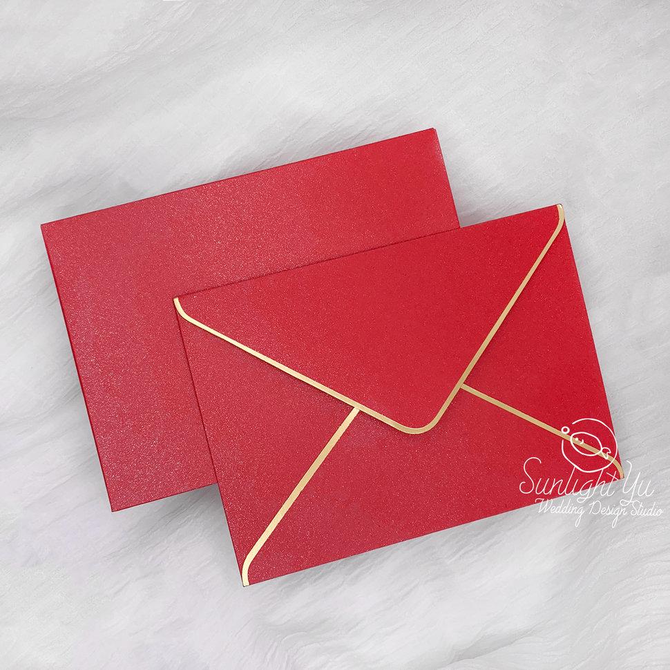 letter-單金邊紅 - 日光與魚婚禮設計工作室 - 結婚吧