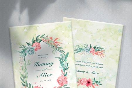 客製化結婚書夾♡結婚證書/書約