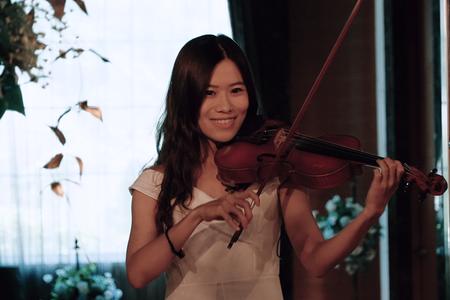 Right.婚禮樂團3人組小提琴/桃園青青格麗絲莊園