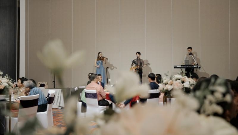 清新質感婚禮樂團作品