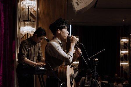 Right.婚禮樂團2人組 台北格萊天漾大飯店