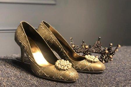 新款 FREESIA手工訂製婚鞋