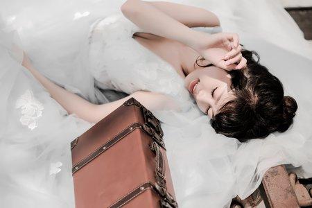 藍色小精靈-攝影師 貝克偉&潘明乾 模特 Katniss Xue