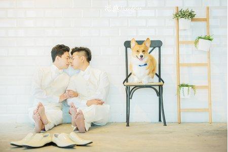 「夫夫婚紗照」 🌈 碰仔&熊熊 🌈