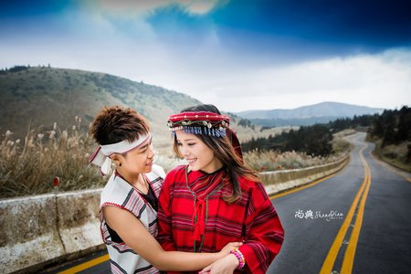 「LES婚紗照」 🌈 原住民 🌈