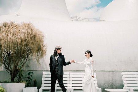 來VVG拍美美類婚紗照♥