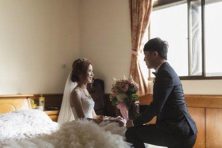 婚禮平面攝影紀實(早儀式+晚宴客)