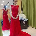 Ruby 露比手工訂製禮服,(Judy婚紗)開心試穿