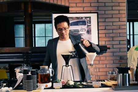 婚禮現場 迎賓手沖咖啡吧