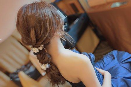 日系編髮造型